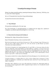 Generalforsamling marts 2010 - Grundejerforeningen Petunia ...