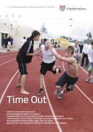 TimeOut nr 4.indd - Haderslev Elitesport - Haderslev Kommune