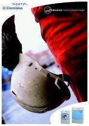 Brochure vedr. behandling af brand- og arbejdstøj - Electrolux ...