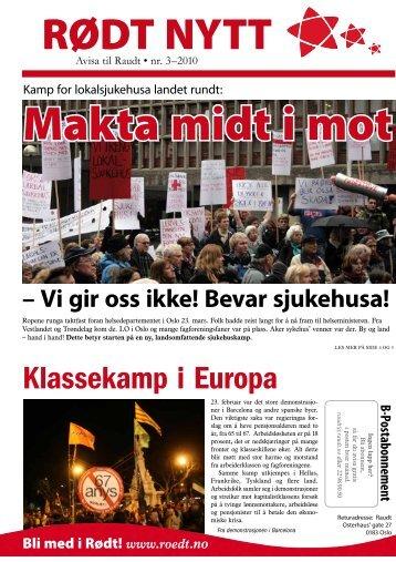 Rødt nytt 2010-3
