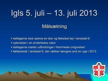 Igls 5. juli – 13. juli 2013 - FDF