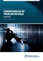 Forebyggelse aF trusler og vold - BAR - service og tjenesteydelser.