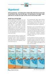 Kapitel 2 - Hypotermi (pdf - 290Kb) - Fiskericirklen