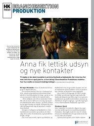 Anna fik lettisk udsyn og nye kontakter - HK