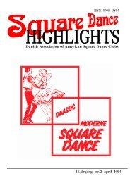 Highlights nr. 2 - 2004 - Danish Association of American Square ...