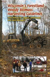 Wisconsin's Forestland Woody Biomass Harvesting Guidelines