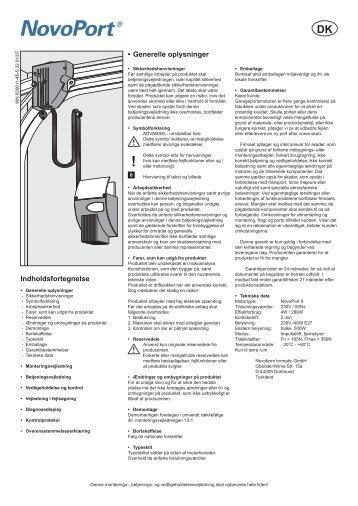 Montering-og kodning af NovoPort v2 - Plus Porte