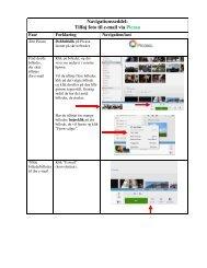 Navigationsseddel: Tilføj foto til e-mail via Picasa