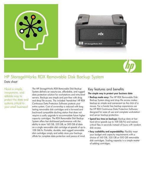 HP STORAGEWORKS RDX DRIVERS PC