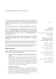 2011-03-02 Udtalelse om aktindsigt - Statsforvaltningen