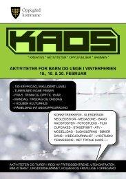aktiviteter for barn og unge i vinterferien 18., 19 ... - Ung i Oppegård