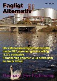 Faglig erstatning - Danmarks Frie Fagforening