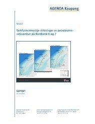 virksomhet på Nordland 6 og 7 - Statoil