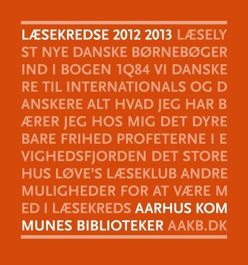 Læsekredse 2012 2013 - Aarhus Kommunes Biblioteker