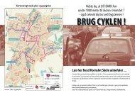 brug cyklen - trafikfolder - Hornslet Skole