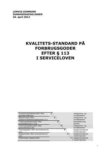 113 - Lemvig Kommune