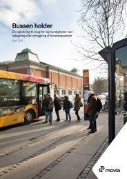Bussen holder En vejledning til brug for vejmyndigheder ved ... - Movia