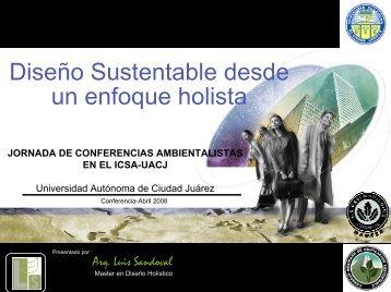 Diseño Sustentable desde un enfoque holista - Universidad ...