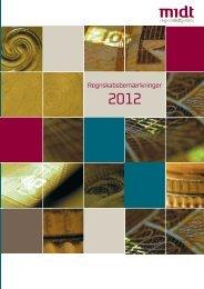 Regnskabsbemærkninger 2012 - Region Midtjylland