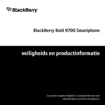 Veiligheids en productinformatie BlackBerry Bold 9700.pdf