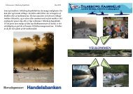 Velkommen i Silkeborg Kajakklub - Velkomst folder