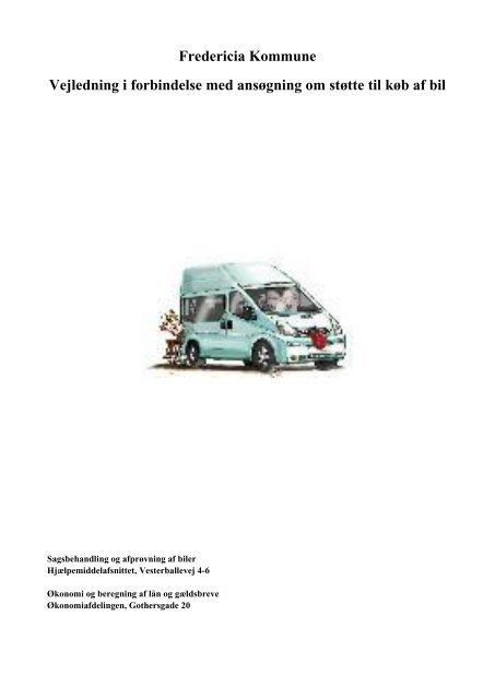 2ef2e024 Bil, Vejledning i forbindelse med ansøgning om støtte til køb af bil