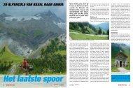Het laatste spoor 20 Alpencols vAn BAsel nAAr GenuA - Fiets