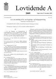 Lov om ændring af lov om bygnings- og boligregistrering
