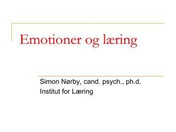 Emotioner og læring