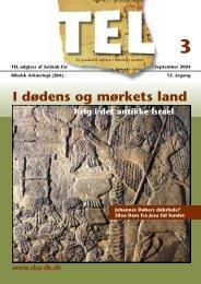 I dødens og mørkets land - Selskab for Bibelsk Arkæologi