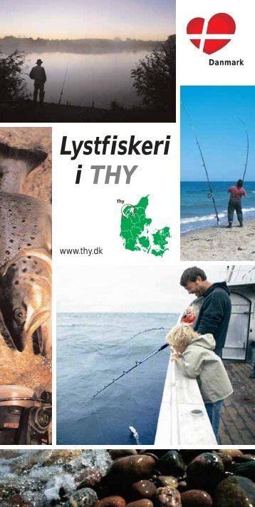 Lystfiskeri i THY - Sommerhuset ved Krik Vig