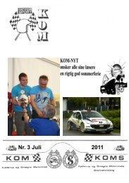 2011 Nr. 3 Juli - Kjellerup & Omegns Motorklub