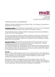 Indhentning af børne- og straffeattester - Region Midtjylland