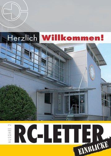 RC-Letters - Druckerei Conzelmann