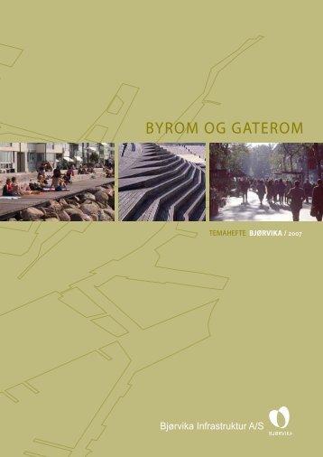 BYROM OG GATEROM - Fjordbyen - Kommune