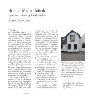 Bonnet Maskinfabrik - Lemvig museum