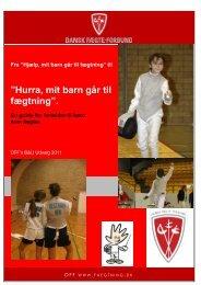 """Hurra, mit barn går til fægtning"""" - En guide for forældre til børn som ..."""