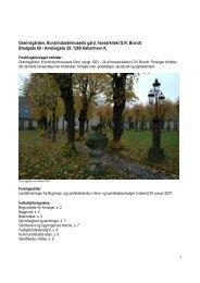 Grønnegården, Kunstindustrimuseets gård, havearkitekt G.N. Brandt ...