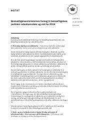Notat om de beskæftigelsespolitiske mål for 2014 - Faaborg-Midtfyn ...