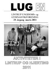 Aktivitetsfolder marts 2011.indd - Lintrup Ungdoms og ...