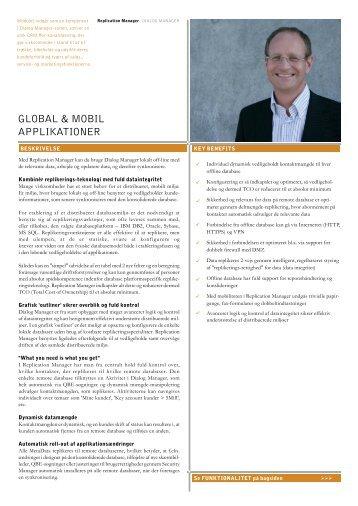 GLOBAL & MOBIL APPLIKATIONER - DM Software