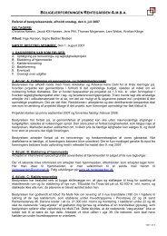 Referat af bestyrelsesmøde afholdt tirsdag d - ab-rentegaarden.dk