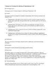 Vedtægter for Foreningen til etablering af Friplejehjemmet i Sall § 1 ...