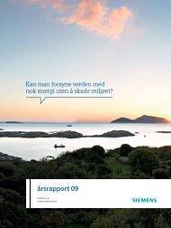 årsrapport 09 - Siemens AS
