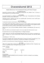 Overenskomst 2012 - Taxa Fyn