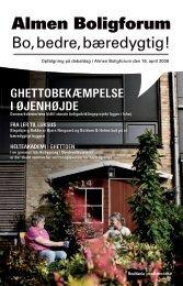Almen Boligforum 16-04-08 (PDF) - Realdania Debat