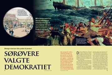 Menige matroser blev pisket til pirateri: - Peter Leeson