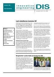 DIS nyhedsbrev september 2004.pub - Dansk IngeniørService
