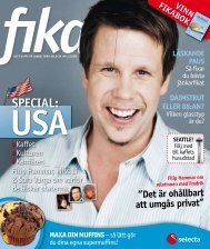 Tidningen Fika nr 1 2009 - Selecta