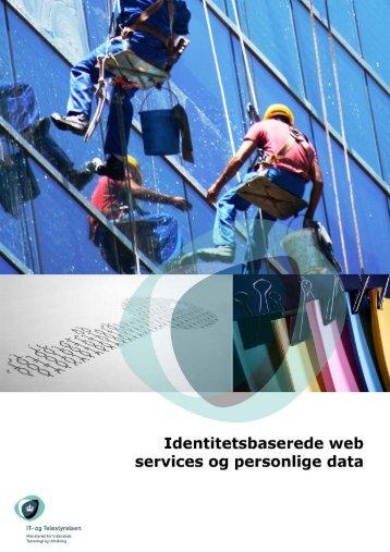 Identitetsbaserede web services og personlige data